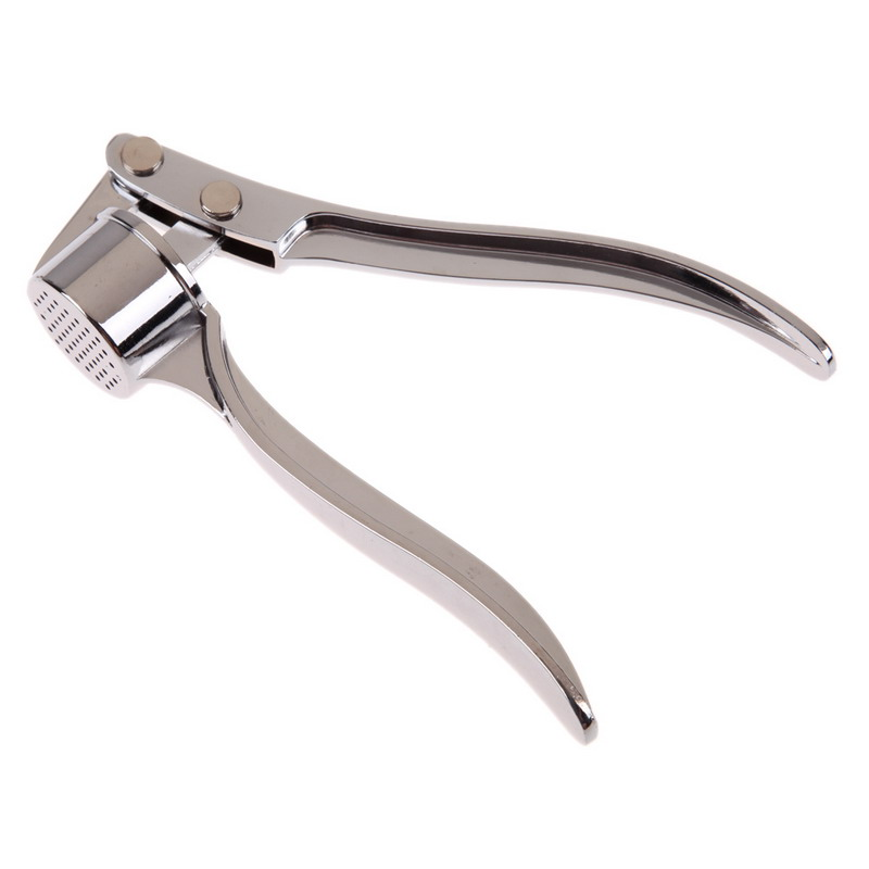 Stainless Steel Kitchen Squeeze Tool Alloy Ginge Crusher Thicken  Garlic Presses