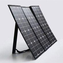 120 вт солнечные панели Водонепроницаемый морской использование sunpower складной панели солнечных батарей с MC4 разъем