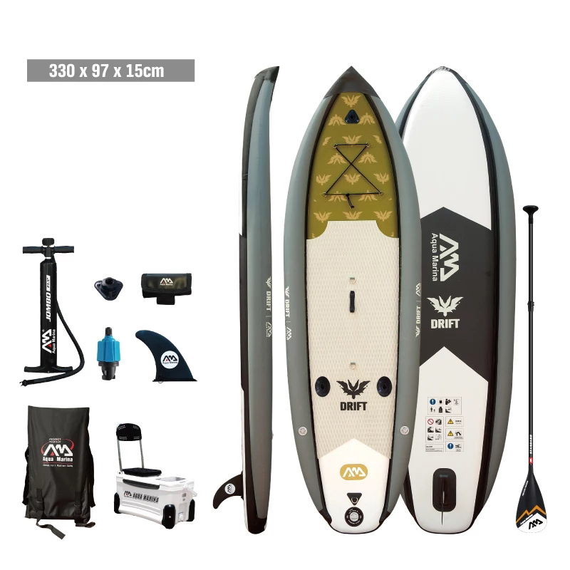 Aqua marina Fishing SUP fishing board stand up paddle board inflatable SUP Drift paddle board цены