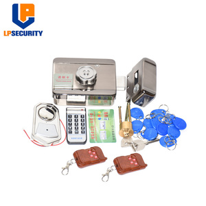 Image 5 - Remote control Electronic RFID Door Gate Lock/Smart Electric Lock Magnetic Induction Door Entry Access Control System 10 tags