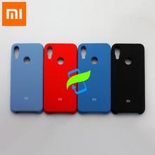 Xiaomi Redmi Hinweis 7 Pro Fall Flüssigkeit Silikon Protector Fall Für XIAOMI Redmi Note7 Pro Silikon Rückseite Fall