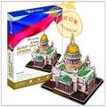 Образовательные игрушки 1 шт. CubicFun русский исса собор 3D бумага DIY известная модель строительные комплекты мальчик игрушка в подарок