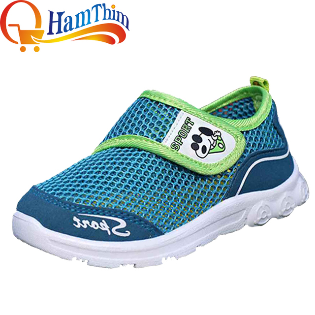 57ab695b7104 New Girls Boys Mesh Breathable Sneakers Children Shoes For Kids Flats Heels  Summer Running Shoe Size 25-36 Little Kid Big Kid