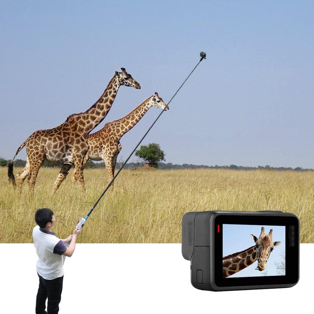TELESIN 106 font b Selfie b font font b Stick b font for GoPro Hero 6