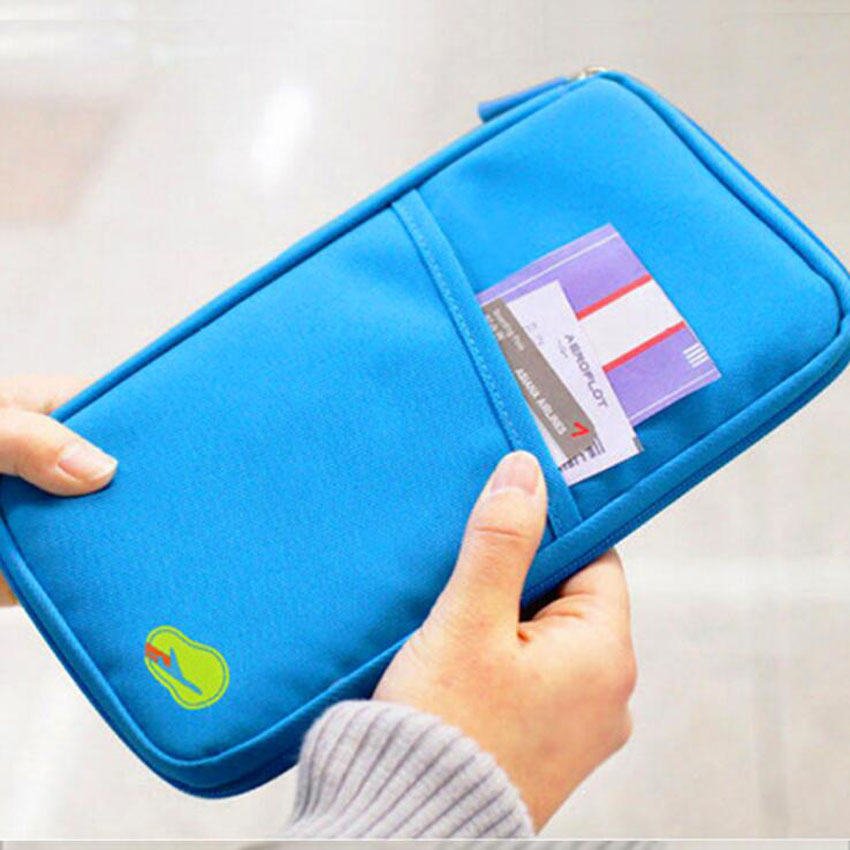 High Quality Travel Passport Cover Wallet Multifunction ID Credit Card Holder Organizer Bag 500PCS lot