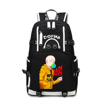 High Q Anime ONE PUNCH-MAN Cosplay UNISEX HIGH SCHOOL  students backpack large capacity  computer travel  backpack birthday giftHigh Q Anime ONE PUNCH-MAN Cosplay UNISEX HIGH SCHOOL  students backpack large capacity  computer travel  backpack birthday gift
