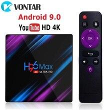 10個H96最大テレビボックスアンドロイド9.0なrockchip RK3318 4ギガバイト64ギガバイト4 18k H.265 youtube 2グラム16 8gアンドセットトップボックスメディアプレーヤー