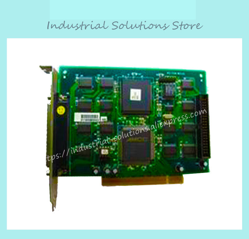 PCI-7200 PCI I/O Capture Card working 100% tested perfect quality industrial motherboard mor 2vd j2k video card morphis y7142 03 video capture card 100% tested perfect quality