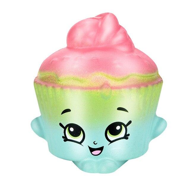 Espremer Queque Mole Perfumado Creme Antistress Cura Lenta Subindo Brinquedos Para Meninas Presente Do Divertimento Dos Desenhos Animados Jumbo Bolo MA27f