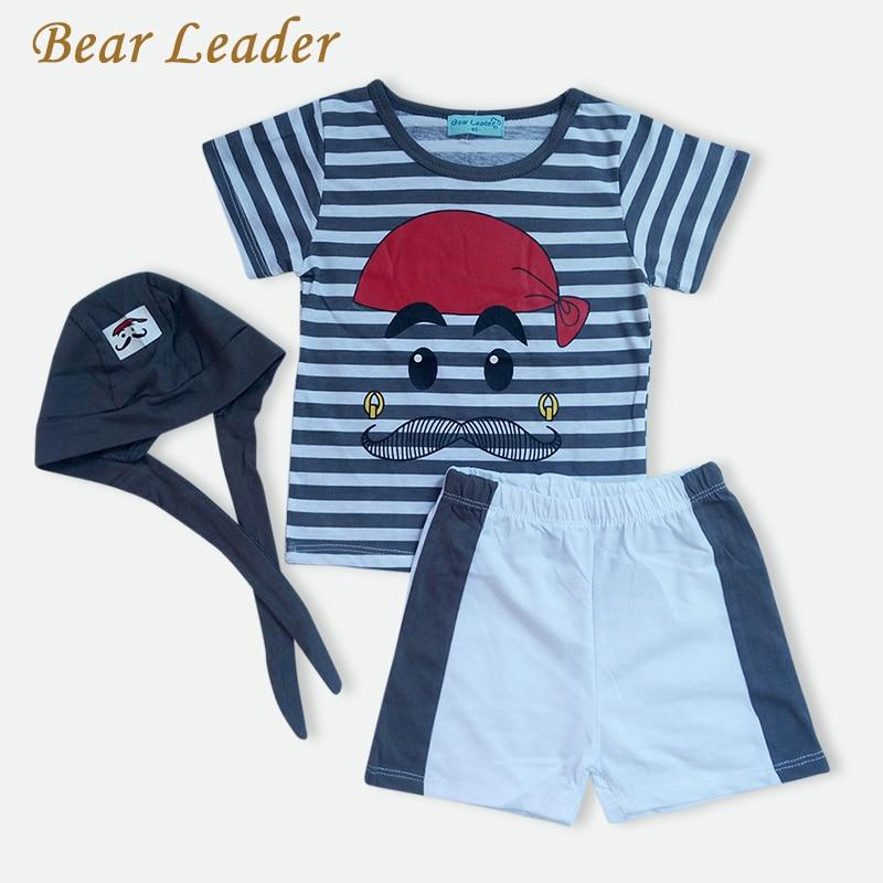 Bear-Leader-Babys-Set-2016-New-Cute-Letter-Baby-Boy-Suit-Set-3Pieces-Hat-T-Shirt-Pants-Summer-Outfit-For-Toddler-Vestidos-1