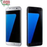 Original Samsung Galaxy S7 Edge LTE Mobile Phone Quad Core 5 5 12 0MP Dual SIM