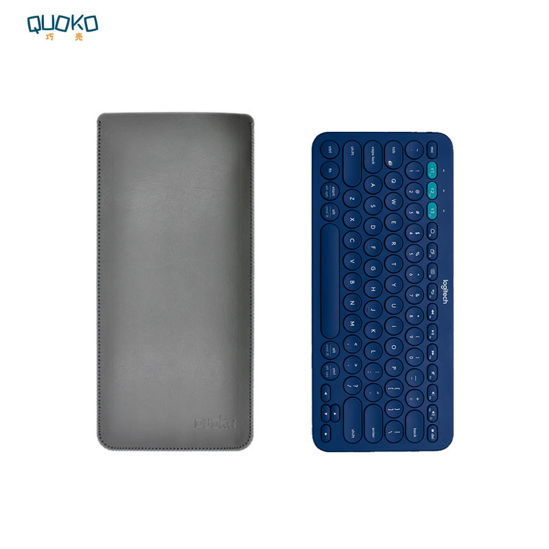 Arrival Selling Ultra-thin Super Slim Sleeve Pouch Cover,microfiber Leather Keyboard Sleeve Case For Logitech K380 Keyboard