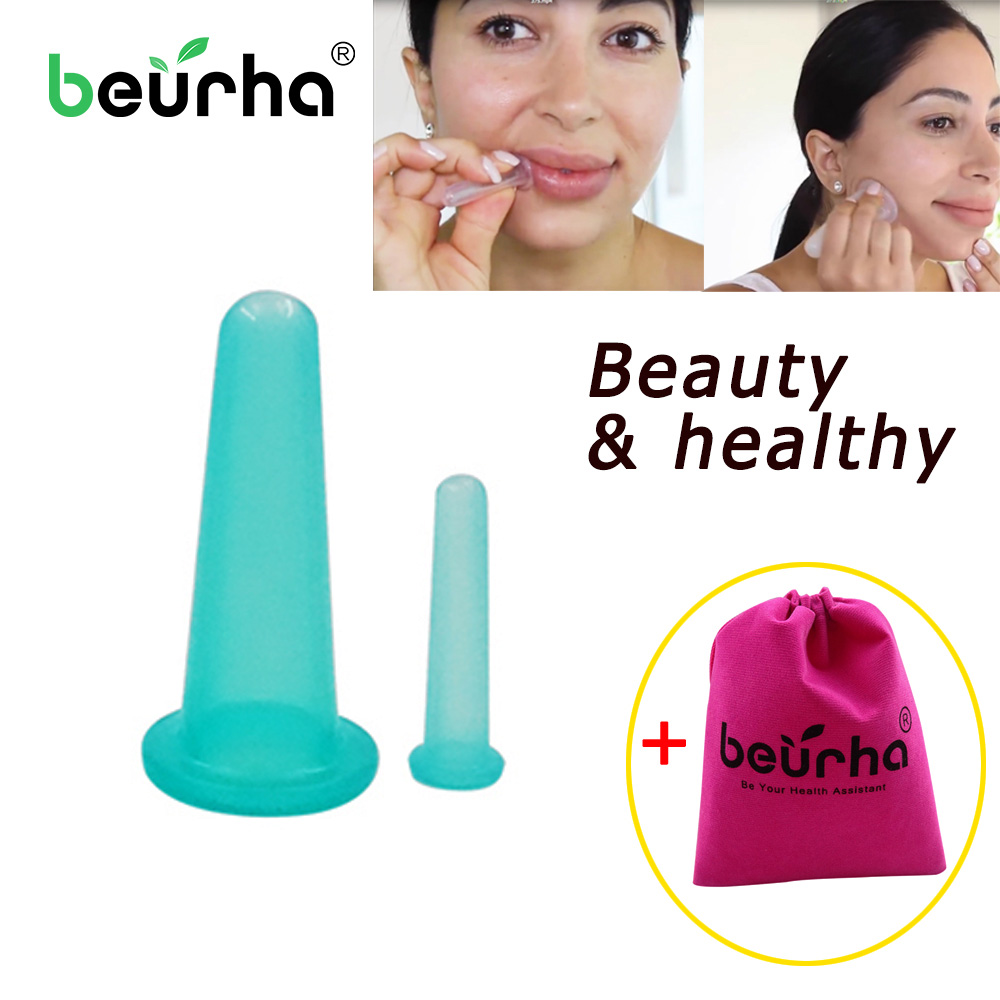 Cupping-Cups Anti-Cellulite Vacuum Silica-Gel Body-Massage-Helper Healthy-Care Chinese