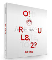 BTS Mini Album O RUL8 2 74p Booklet 2pcs Photocard Folded Poster On Package Kpop Free