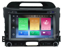 FOR KIA SPORTAGE 2010-2014 (LOW) Android 8.0 Car DVD player Octa-Core(8Core) 4G RAM 1080P 32GB ROM WIFI gps head device stereo
