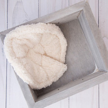 HIKYMA Newborn Photography Props Basket Filler Blanket Baby