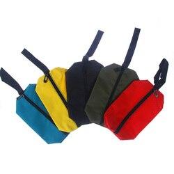 Nieuwe Rits Opslag Tool Bag Pouch Organiseren Kleine Onderdelen Hand Tool Loodgieter Elektricien opbergtas