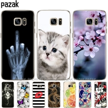 Silicone phone Case For Samsung Galaxy S7 / S7