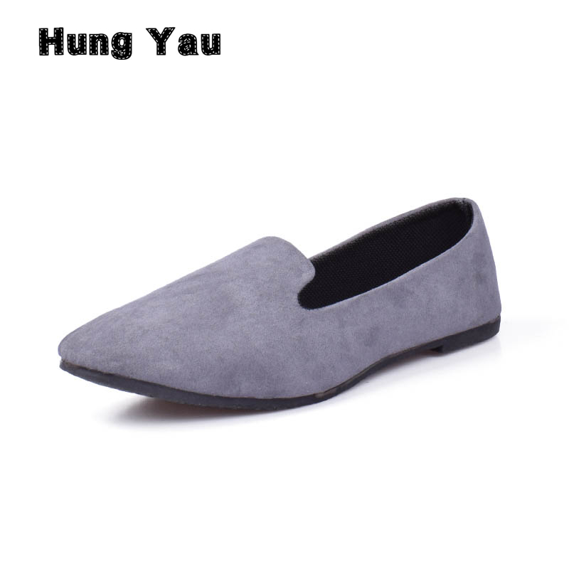 Hung Yau Women Flats Shoes Woman Loafers Summer Fashion Sweet Flat Casual Slip On Comfortable Shoes Women Zapatos Mujer Size 9 fashion women shoes pointed toe slip on flat shoes woman comfortable single casual flats size 35 40 zapatos mujer