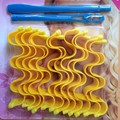 2016 Newly arrive high quality beauty Watermark shaped manually curlers Not to hurt the hair curlers makeup hair curlers 1 set