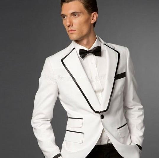 Compare Prices on Black and White Prom Suits- Online Shopping/Buy ...