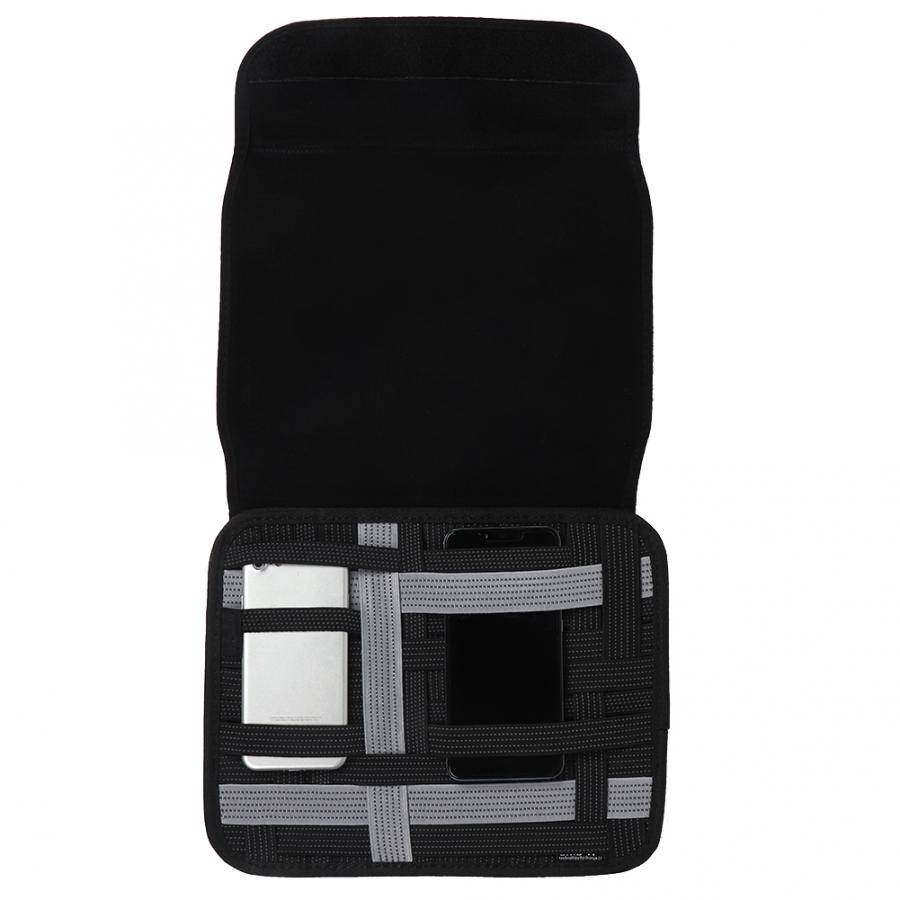 Electronics Accessories  Case Portable Cable Storage Bag Organizer Travel Electronics Storage Case for Various USB, Charger