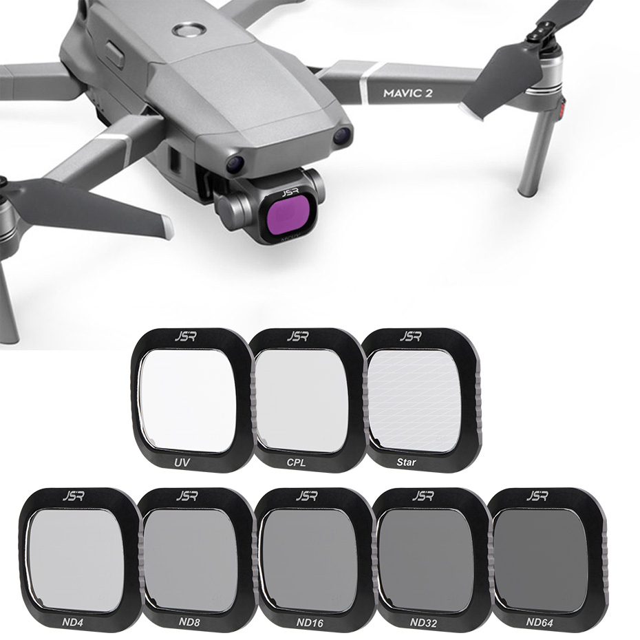 For Mavic 2 Pro Drone Filter Neutral Density/Polarizing/UV Protective Camera Filters For DJI Mavic 2 Pro Optical Glass Filter