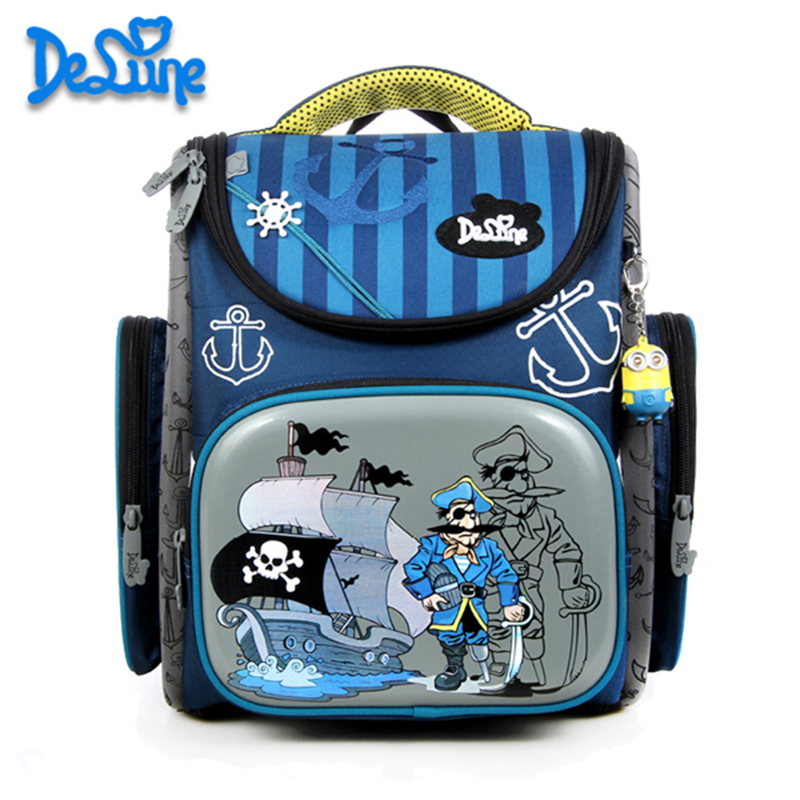 Children School Bags boys Girls kids 3D Orthopedic Backpack cartoon schoolbag Waterproof primary school Bookbag Kids sac enfant купить в Москве 2019