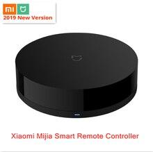 Оригинал Сяо mi Цзя Универсальный Интеллектуальный smart ПДУ WI-FI + ИК переключатель 360 градусов домашней автоматизации mi smart sensor