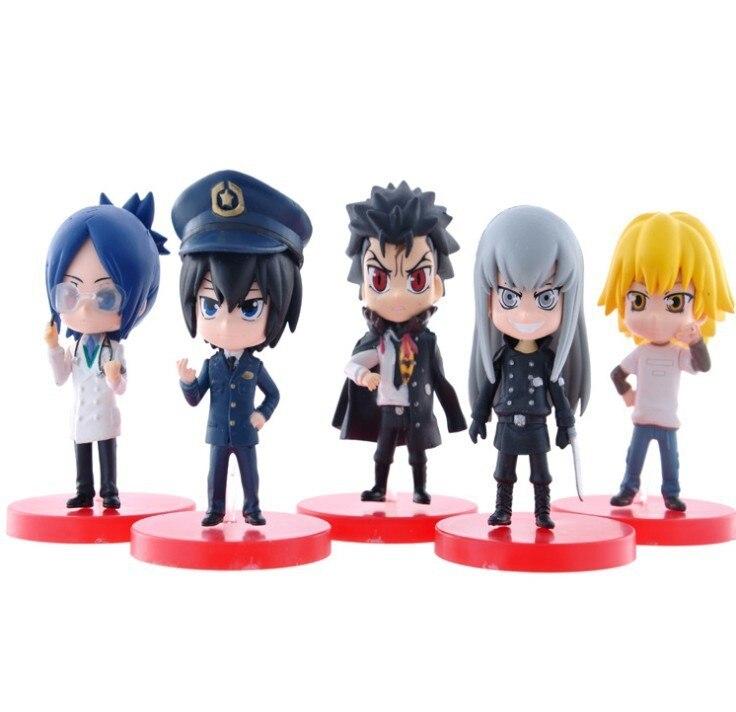 Hot 5pcs/set 6-8cm Katekyo Hitman Reborn Sawada Tsuna Action Figures PVC brinquedos Collection Figures toys christmas gift