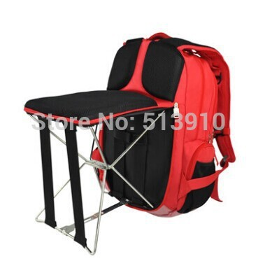 Fishing Chair Outdoor Portable Folding Stool Backpack High