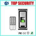 Boa qualidade IP65 à prova d' água de metal biométrico de impressões digitais porta sistema de controle de acesso com teclado controlador de acesso standalone
