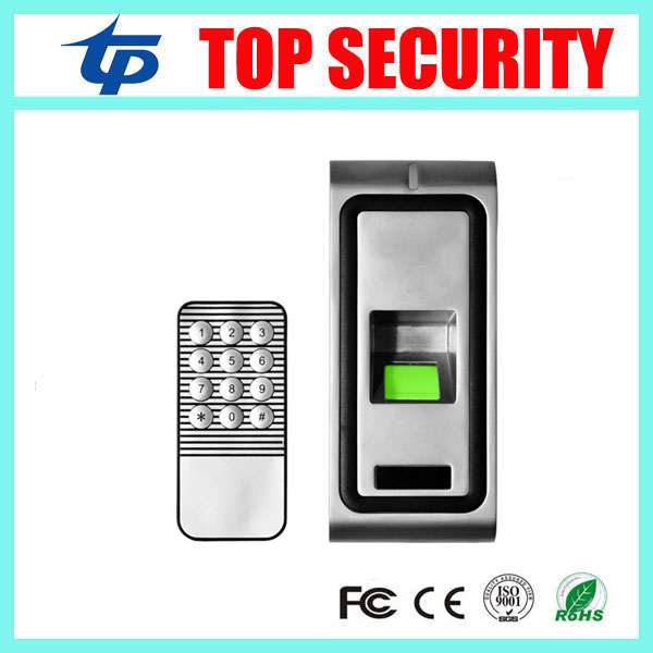 Good quality IP65 waterproof metal biometric fingerprint door access control system with keypad standalone access controller good quality high speed zk f19 biometric fingerprint access control system standalone fingerprint door access controller reader