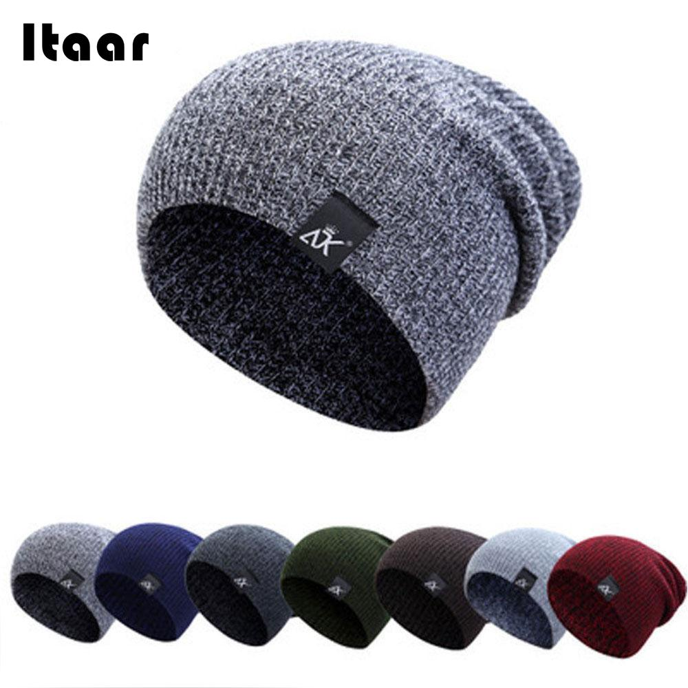 цена 2018 Beanies Knit Winter Hats Beanie Fashion Warm Cap Skiing Ski Sports Knit Hat Unisex Cycling Outdoor Hoodies Sweatshirts Cap