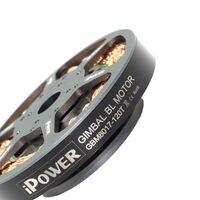 Ipower ブラシレスジンバルモーター GBM8017用レッド プロフェッショナル fpv