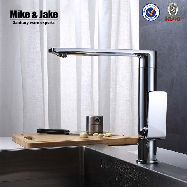 Online Shop 360 Rotating Chrome Contemporary Kitchen Faucets Basin