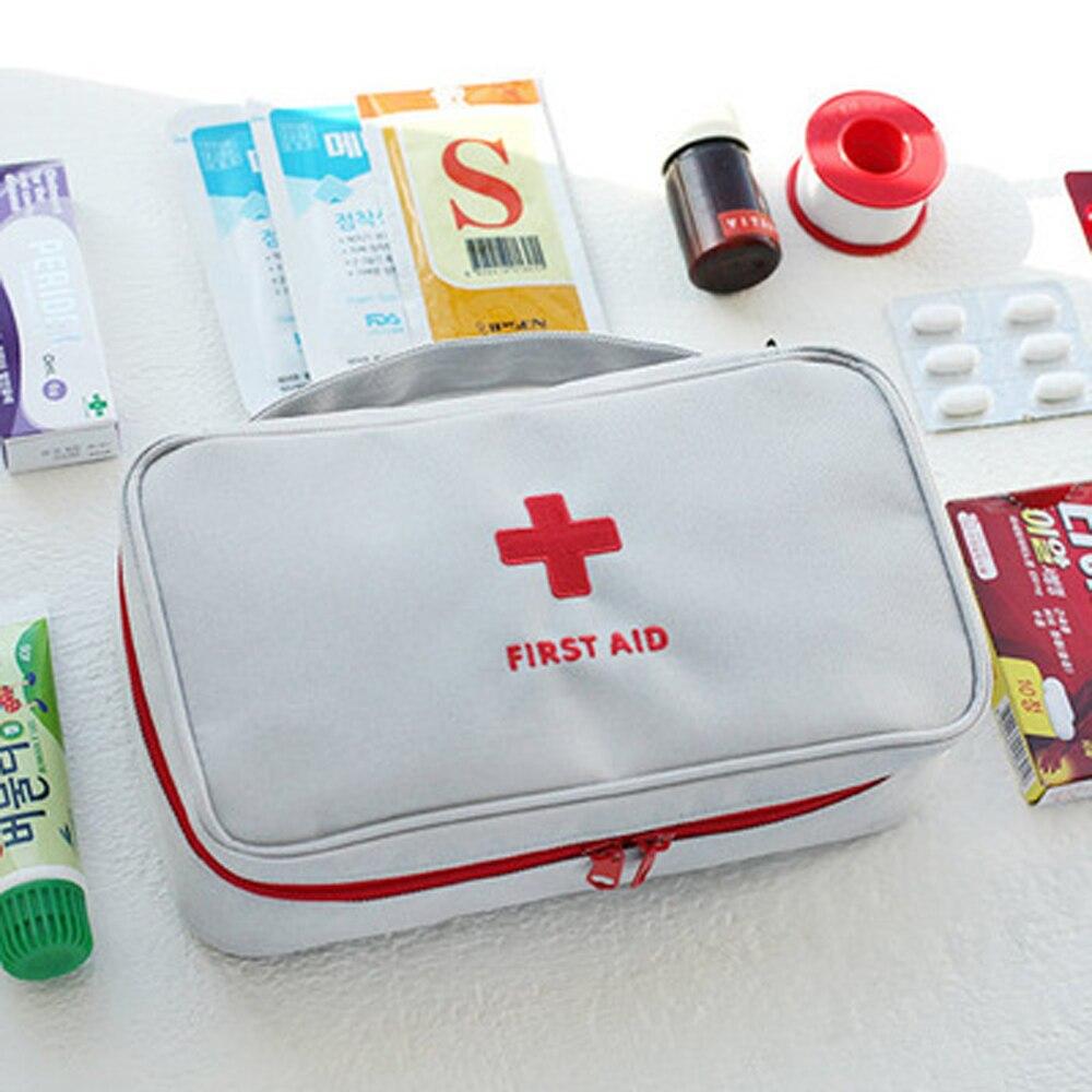 Korean Style First Aid Kit Väska Väska Military Survival Travel - Resetillbehör - Foto 2