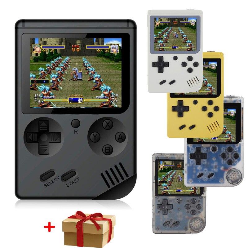 RS-6A Crianças Retro Mini Portátil Handheld Game Console 3.0 Jogadores Polegada 168 Construído Em Jogos Handheld Do Jogo Clássico-FC jogador
