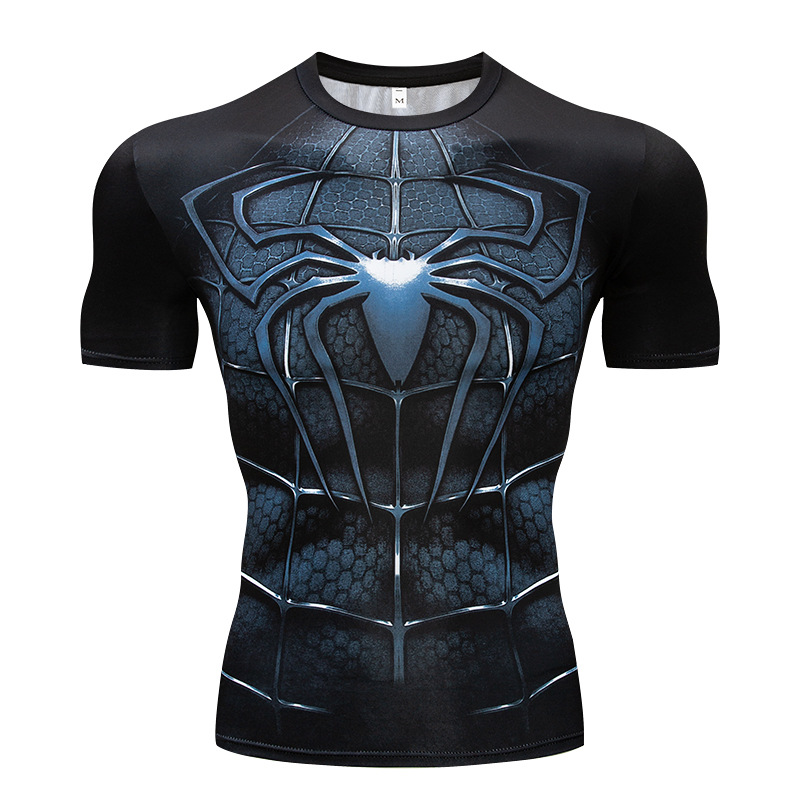 Have An Inquiring Mind 2018 Spiderman & Batman 3d Printed T Shirts Men Compression Shirts Character Comics Tops For Male Cosplay Costume Clothing S~4xl Tops & Tees