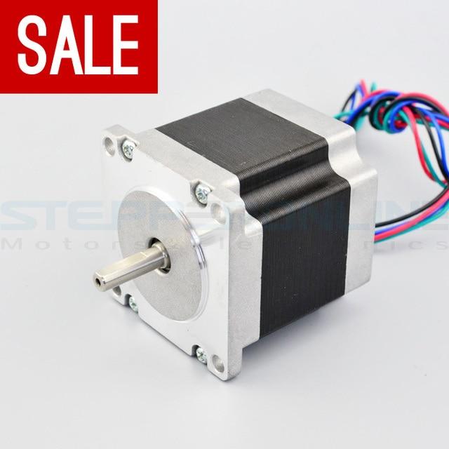 Nema 23 Stappenmotor Bipolaire 2.8A Hoge Koppel 1.26Nm (178.5oz.in) 4 Leads 57x57x56mm voor 3D Printer cnc