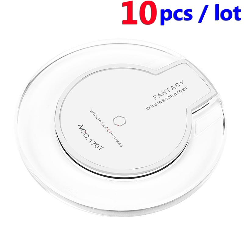 ๏10PCS Wireless Charger Inductive ② Mobile Mobile Phone