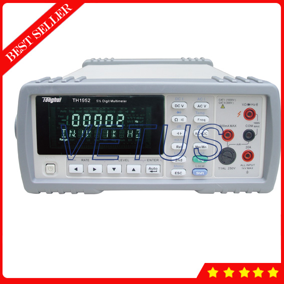 TH1952 Multifunctional 5 1/2 digit Multimeter Brands for RS232 interface USB interface цена