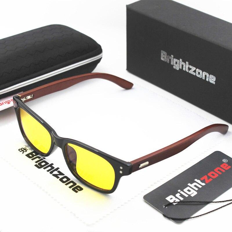 Brightzone 6 Rivat Anti Blue Computer Light Bezel Optics Men Women Anti-glare Glasses For Computer Gaming & TV Glasses 0 Degree