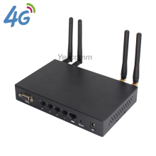 R340 Series car WIFI Dual sim 4G LTE router with sim card slot and external SMA antenna