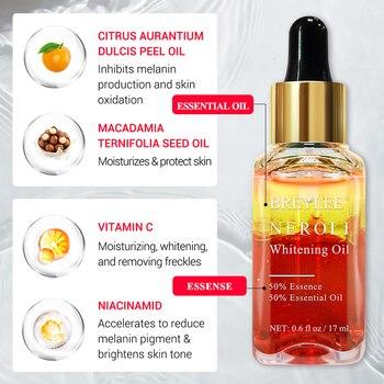 BREYLEE Hyaluronic Acid Essential Oils Moisturizer Whitening Essence Face Skin Care Rose Firming Facial Serum Anti