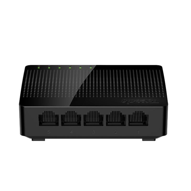 Tenda SG105 Network 5 Port Gigabit Switch 10/100/1000Mbps Fast Ethernet Switcher Lan Hub Full/Half duplex Exchange NEW