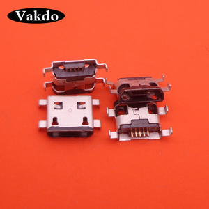 Image 4 - 100pcs Micro USB 5pin Female Connector For MOTO G1 Mini USB Jack Connector Applicability for mobile phone charging tail plug