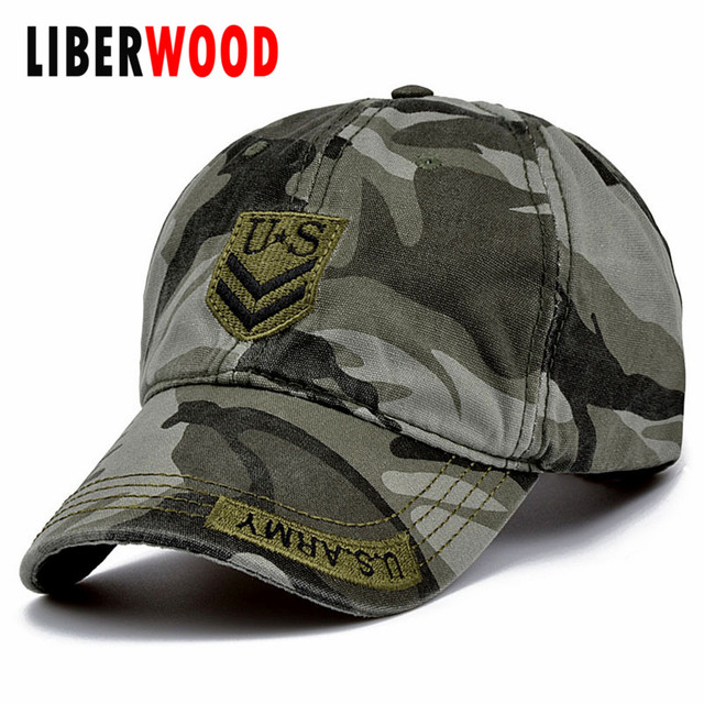 5a3726616ba United States US Army Special Forces Baseball Cap Hat USA America army  cotton Camo Camouflage Adjustable Sun Hats men women hat