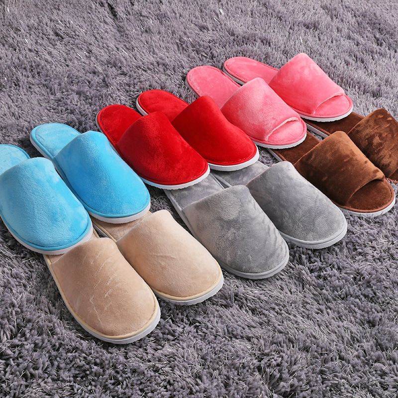 Customization Of Slippers For Five-star Hotel Club, Beauty Salon, Hotel, Non-one-time Thickening And Non-skid Housekeeping