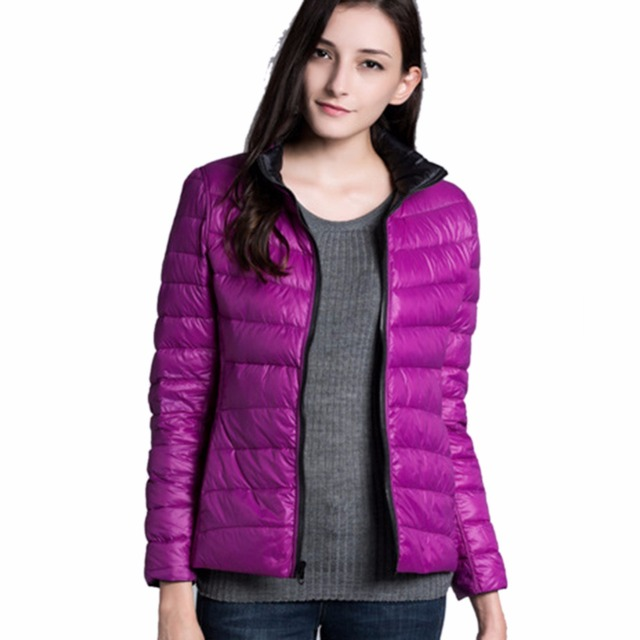 iSHINE Women Double Side Coat Winter Parkas Slim Jackets Brand Design Female Warm Clothing 2